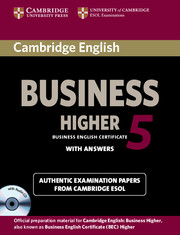 Cambridge English Business 5 Higher