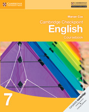 Cambridge Checkpoint English: Coursebook 7