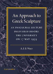 An Approach to Greek Sculpture