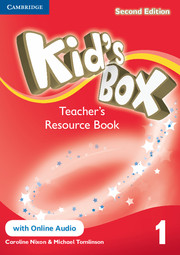 Kid's Box Level 1 Teacher's Resource Book with Online Audio