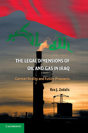 The Legal Dimensions of Oil and Gas in Iraq