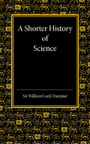 A Shorter History of Science
