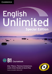 English Unlimited Pre-intermediate Coursebook with e-Portfolio Special Edition
