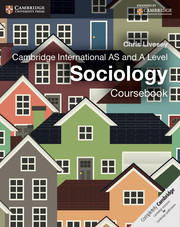 Cambridge International AS and A Level Sociology Coursebook
