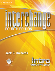 Interchange Intro Student's Book with Self-study DVD-ROM and Online Workbook Pack