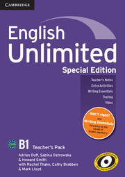 English Unlimited Pre-intermediate Teacher's Pack Special Edition