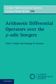 Arithmetic Differential Operators over the p-adic Integers