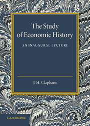 The Study of Economic History