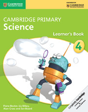 Cambridge Primary Science Stage 4 Learner's Book