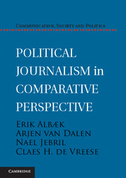 Political Journalism in Comparative Perspective