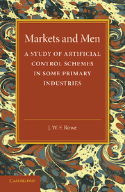 Markets and Men