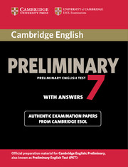 Cambridge English Preliminary 7