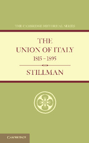 The Union of Italy 1815–1895