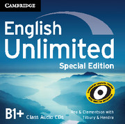 English Unlimited Intermediate Class Audio CDs (3) Special Edition