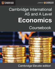 Cambridge International AS and A Level Economics Coursebook Cambridge Elevate Edition (2 Years)