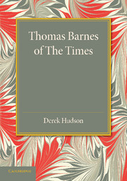 Thomas Barnes of The Times