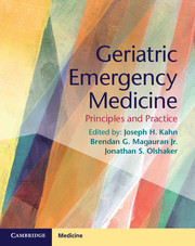 Geriatric Emergency Medicine