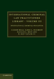 International Criminal Law Practitioner Library