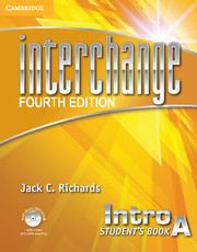 Interchange Intro Student's Book A with Self-study DVD-ROM