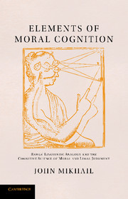 Elements of Moral Cognition