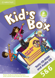 Kid's Box Levels 5–6 Tests CD-ROM and Audio CD