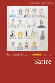The Cambridge Introduction To Satire By Jonathan Greenberg