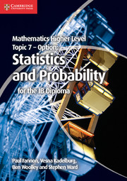 Option topic 7 Statistics and Probability