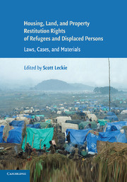 Housing and Property Restitution Rights of Refugees and Displaced Persons