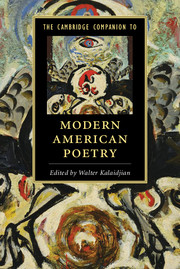 The Cambridge Companion to Modern American Poetry