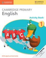 Cambridge Primary English Activity Book Stage 1 Activity Book