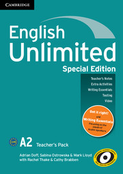 English Unlimited Elementary Teacher's Pack Special Edition