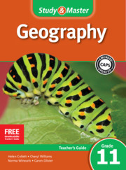 Study & Master Geography Teacher's Guide Grade 11