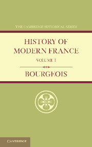 History of Modern France