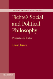 Fichte's Social and Political Philosophy