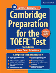 Cambridge Preparation for the TOEFL® Test 4th Edition