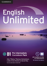 English Unlimited Pre-intermediate