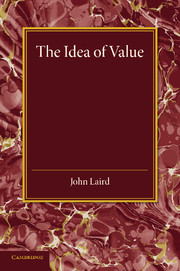 The Idea of Value