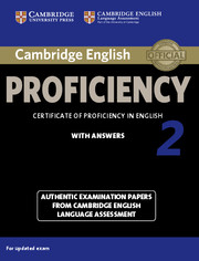 Cambridge English Proficiency 2