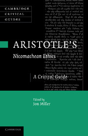 Aristotle's <I>Nicomachean Ethics</I>