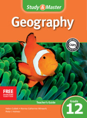Study & Master Geography Teacher's Guide Grade 12