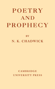 Poetry and Prophecy