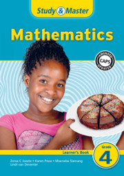 Study & Master Mathematics Learner's Book Grade 4