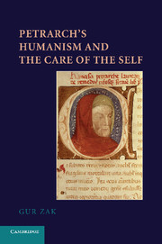 Petrarch's Humanism and the Care of the Self