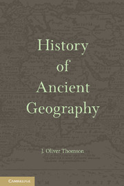 History of Ancient Geography
