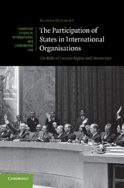 The Participation of States in International Organisations