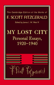 Fitzgerald: My Lost City