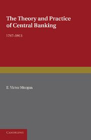 The Theory and Practice of Central Banking, 1797–1913