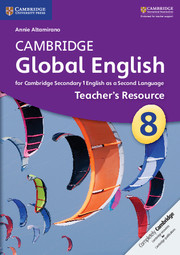 Cambridge Global English Stages 7-9 Stage 8 Teacher's Resource CD-ROM