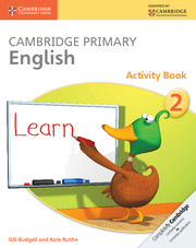 Cambridge Primary English Activity Book Stage 2