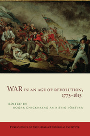 War in an Age of Revolution, 1775–1815